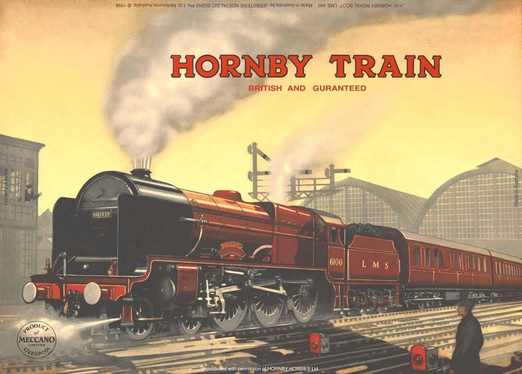 HORNBY ROYAL SCOT Metal Sign