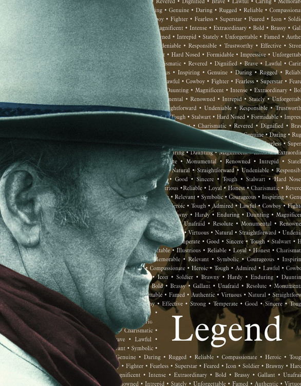 JOHN WAYNE LEGEND Metal Sign