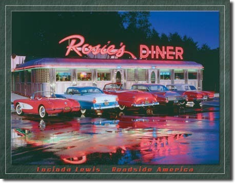 LEWIS - rosie's Metal Sign