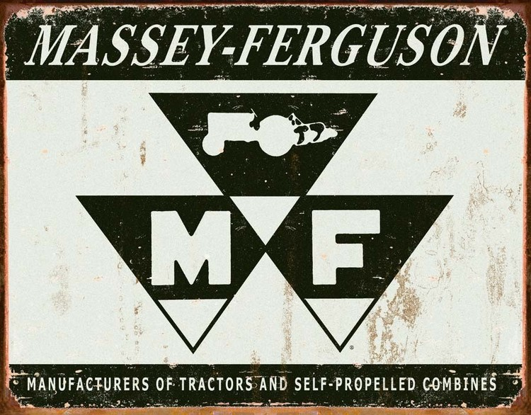 MASSEY FERGUSON Metal Sign