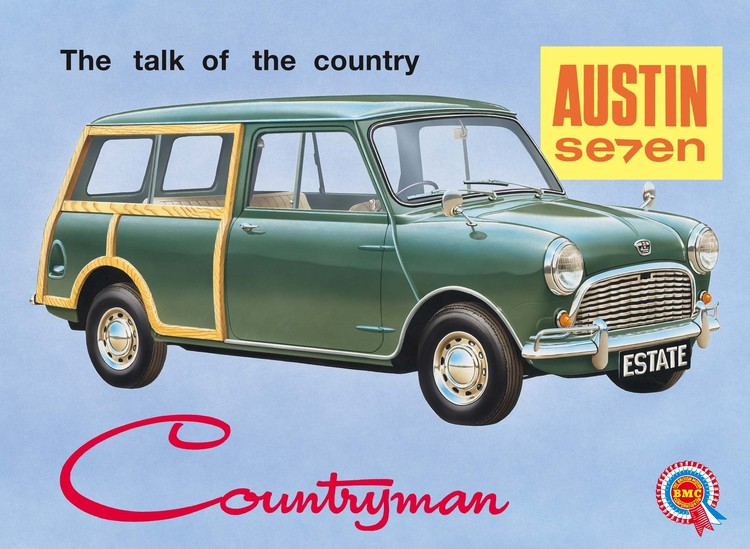 MINI COUNTRYMAN Metal Sign
