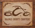 OCC LOGO Metal Sign