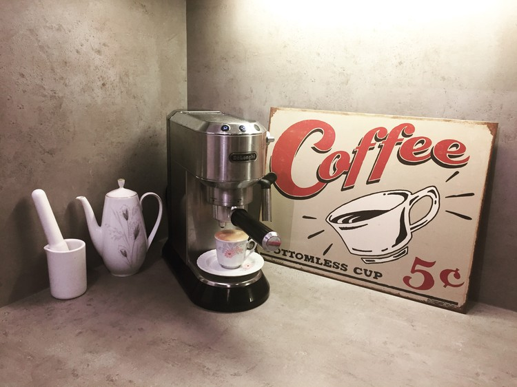 SCHOENBERG - coffee scents Metal Sign