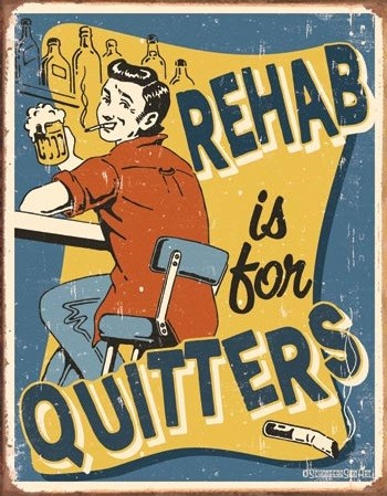 Schonberg - Rehab Metal Sign