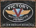 VICTORY MOTORCYCLES Metal Sign