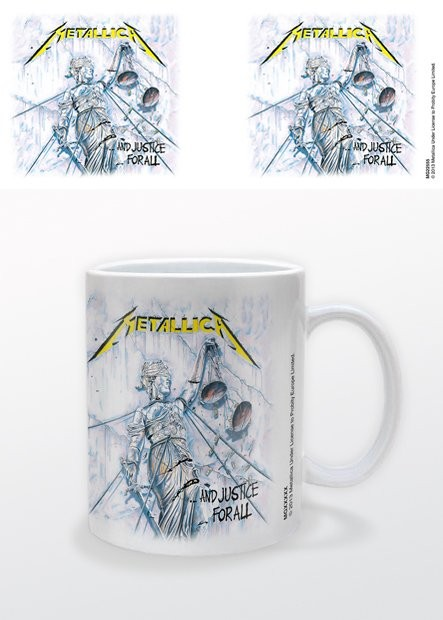 Mug Metallica - And Justice For All
