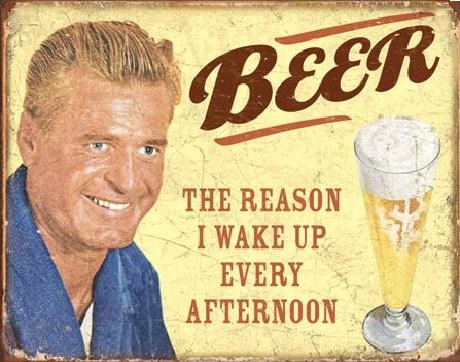 Metallikyltti EPHEMERA - BEER - The Reason