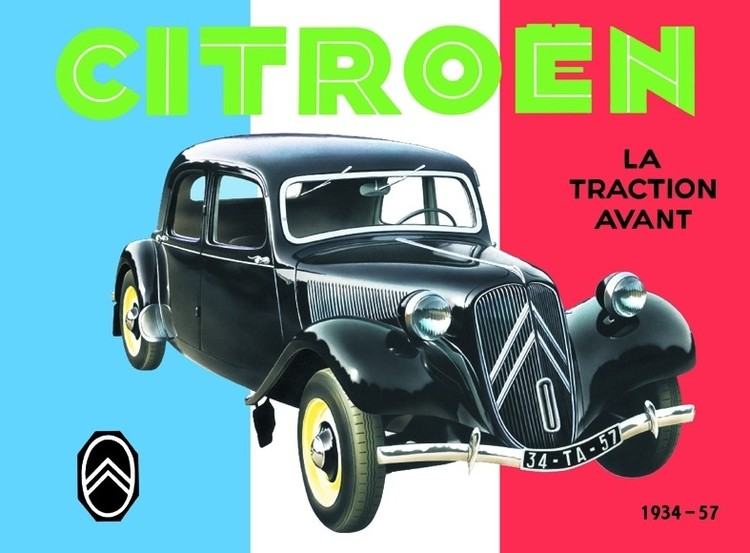 Metalllilaatta CITROËN TRACTION AVANT