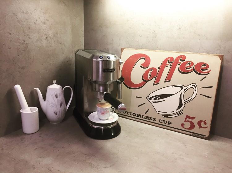 Metalllilaatta SCHOENBERG - coffee scents