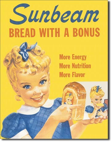 Metalllilaatta Sunbeam - Little Miss Sunbeam