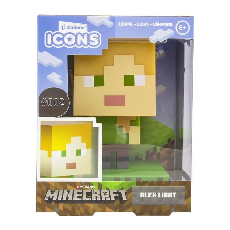 Glowing figurine Minecraft - Alex