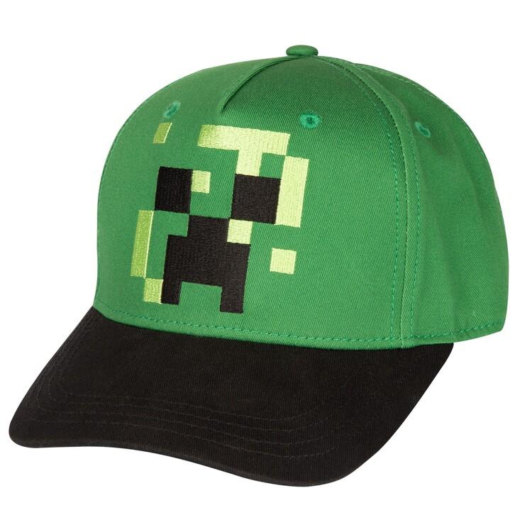Cap Minecraft - Pixel Creeper