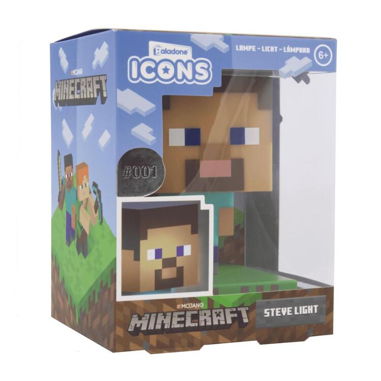 Glowing figurine Minecraft - Steve