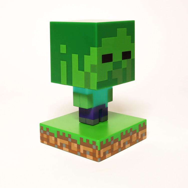 Glowing figurine Minecraft - Zombie