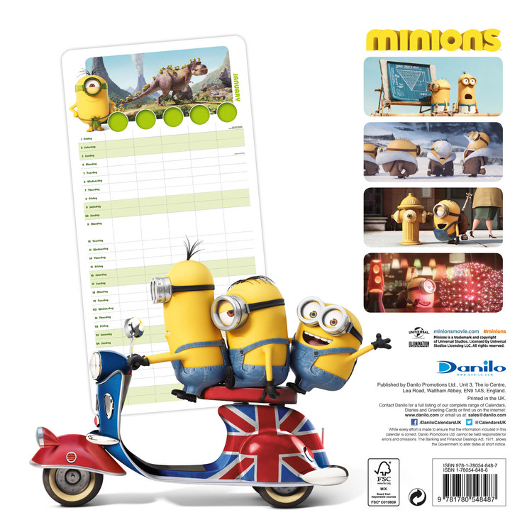 Minions   Wall Calendars | Large selection
