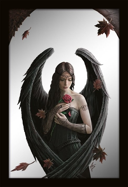 MIRRORS - anne stokes / angel rose Miroir
