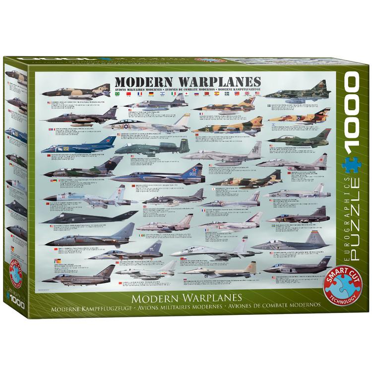 Puzzle Modern Warplanes