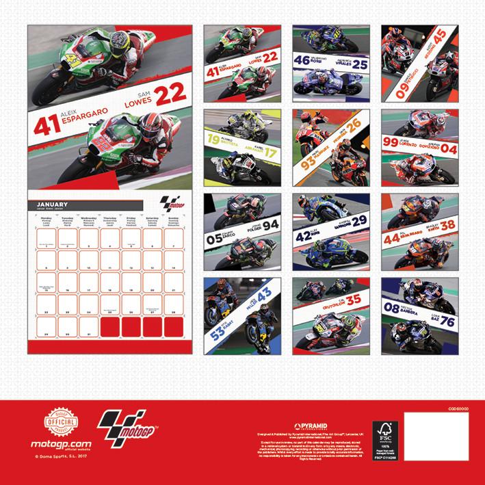 Calendrier 2022 Moto Gp Moto GP   Wall Calendars 2022 | Large selection