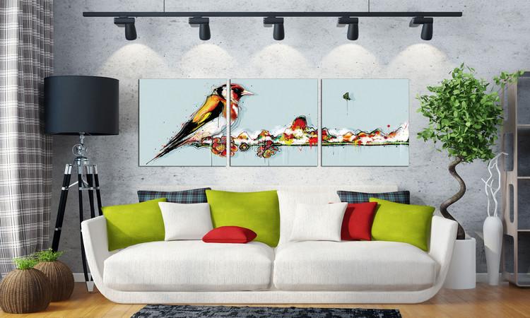 Bird Mounted Art Print