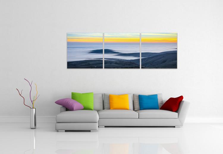 Coast Mounted Art Print
