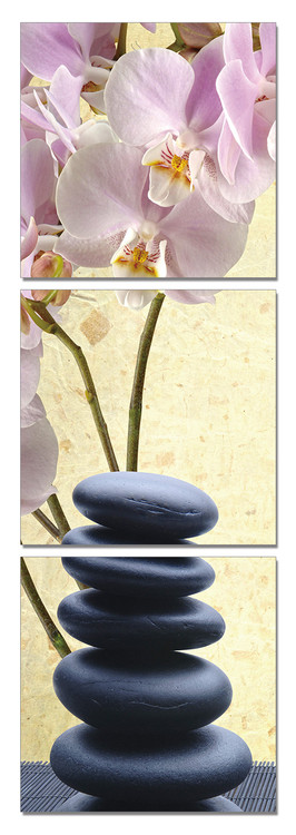 Feng shui - the stones Mounted Art Print