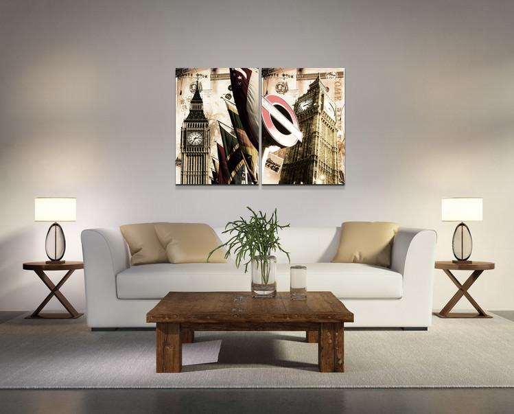 Modern design - Abstract Mounted Art Print
