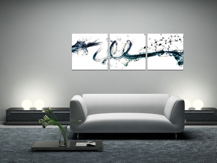 Modern Design - Colorful Flow Mounted Art Print