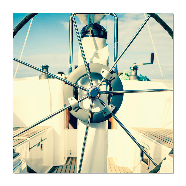 Propeller Mounted Art Print