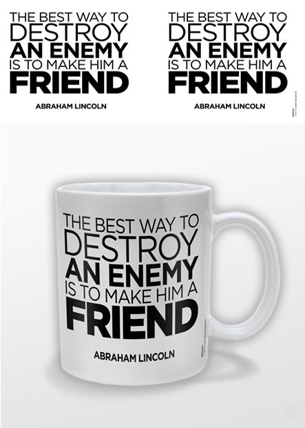 Abraham Lincoln – A Friend Mug