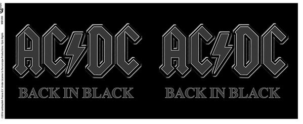 AC/DC - Back in Black Mug