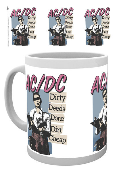 AC/DC - Dirty Deeds Mug
