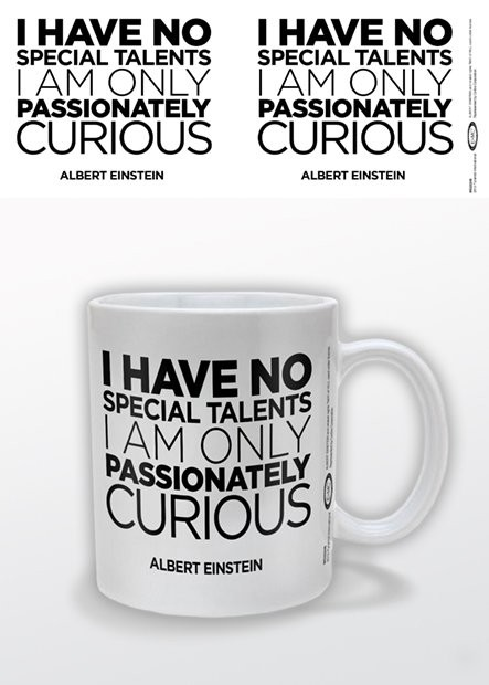 Albert Einstein - Only Curious Mug