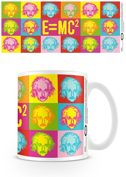 Albert Einstein - Pop art Mug