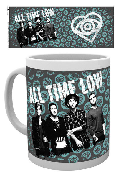 All Time Low - Eye Pattern Mug