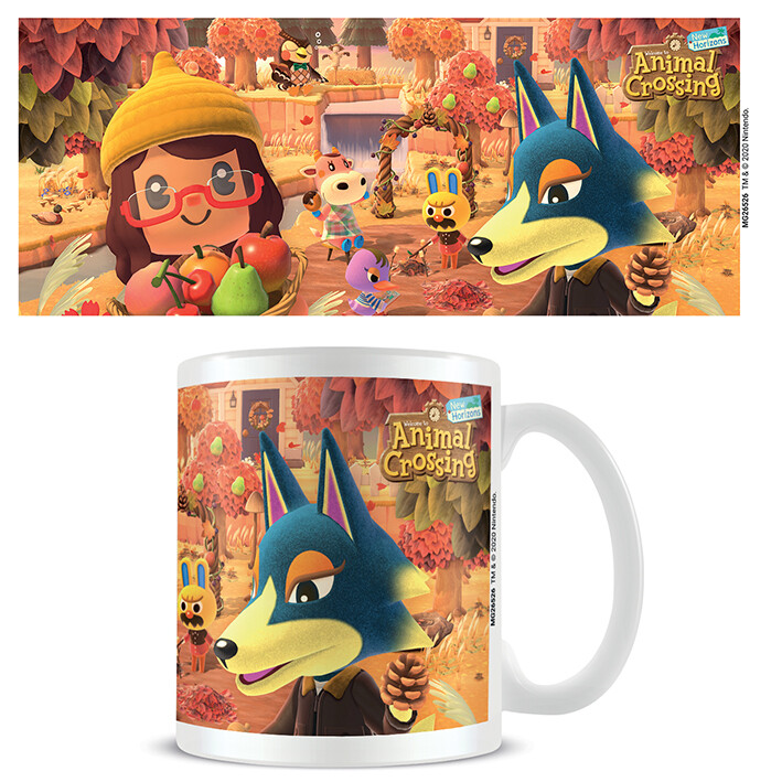 Cup Animal Crossing - Autumn