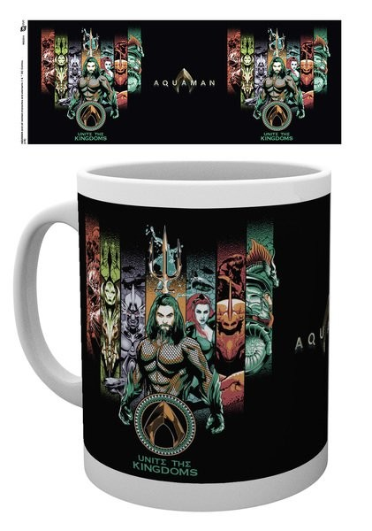 Aquaman - Unite The Kingdom Mug