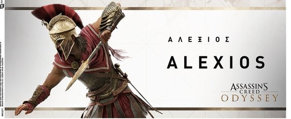 Assassins Creed Odyssey Alexios Action Mug Cup Buy At Europosters