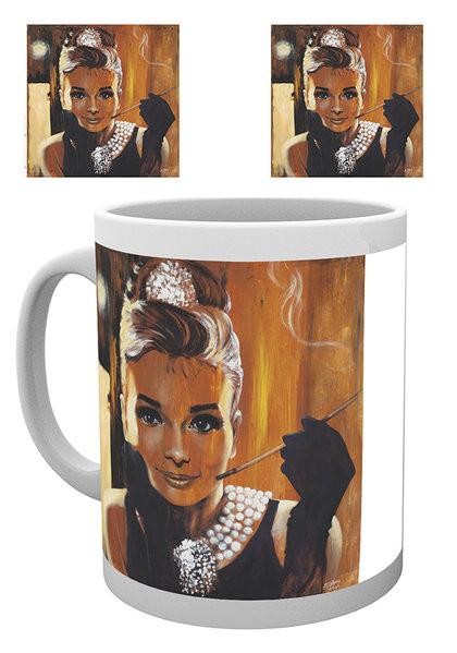 Audrey Hepburn - Breakfast, Fishwick Mug