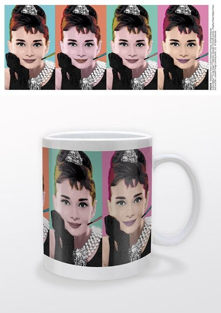 Audrey Hepburn - Pop Art Mug