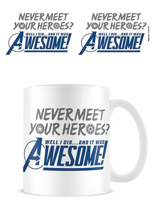 Cup Avengers Gamerverse - Never Meet Your Heroes