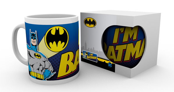 Batman Comic - I'm Batman Bold Mug