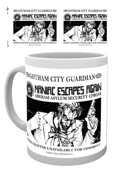 Batman Comics - Joker Wanted Mug