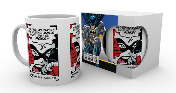 Batman Comics - Puddin Mug