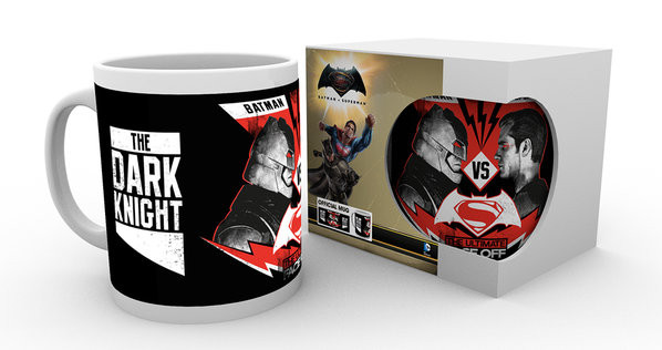 Batman v Superman: Dawn of Justice - Face Off Mug