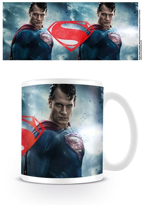 Batman v Superman: Dawn of Justice - Superman Rage Mug