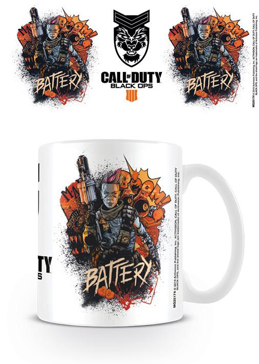 Call Of Duty - Black Ops 4 Battery Mug