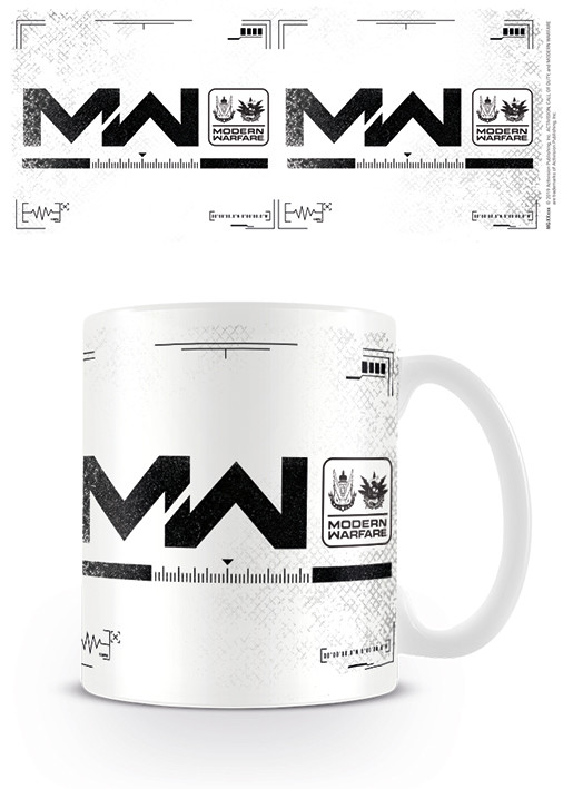 Call Of Duty Modern Warfare Logo Mug Cup Buy At Europosters