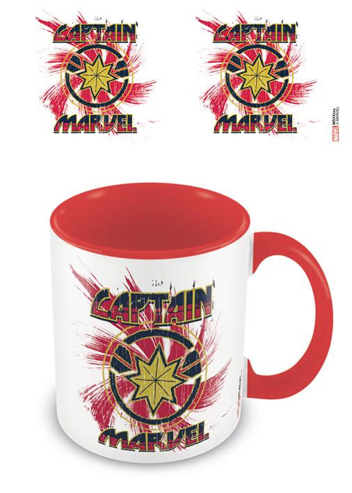 Cup Captain Marvel - Rock