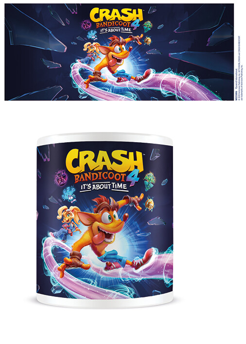 Cup Crash Bandicoot 4 - It's About Time
