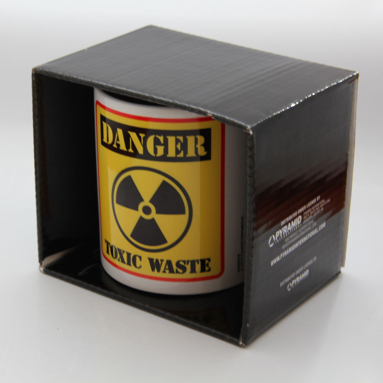 Danger Toxic Waste Mug